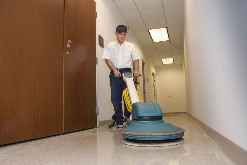 floor burnisher