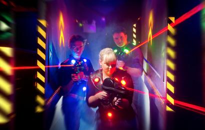 Laser Skirmish – The Brand New Outside Laser Tag