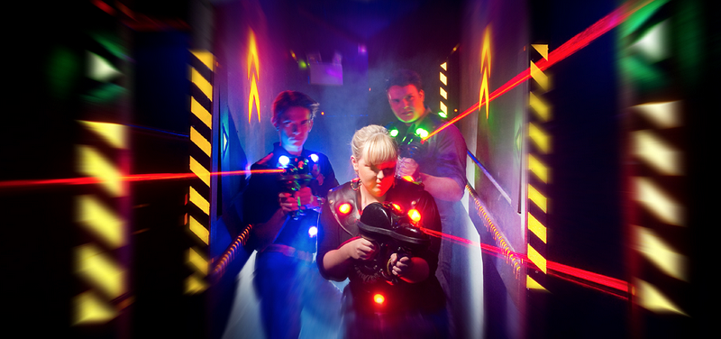 Laser Skirmish – The Brand New Outside Laser Tag