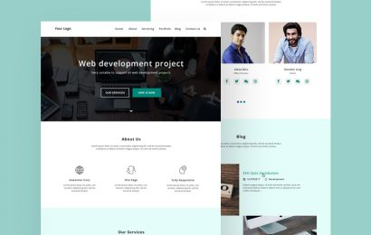 User pattern background for website design